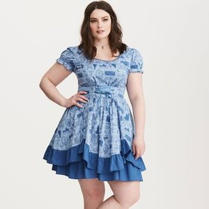 Torrid Beauty & The Beast Dress